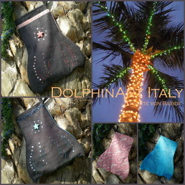 DOLPHIN CHRISTMAS STOCKING