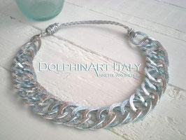 Necklace *SILVER BLUE DANCE*