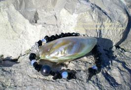 Bracelet *BLACK PEARL*
