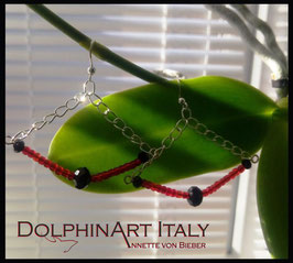 Earrings *MURANO TREASURE ~ RED*