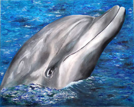 Painting DOLPHINS A REASON TO BELIEVE