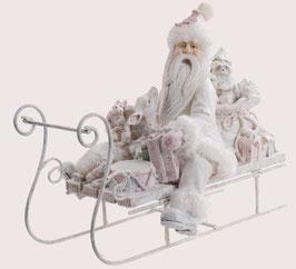 Santa auf Schlitten frosty
