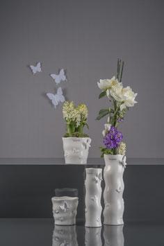Kübel und Vase Apollo Schmetterling