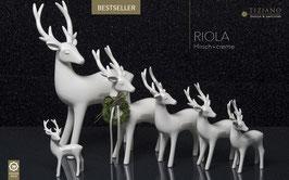 Hirsch Riola stehend 35cm