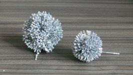 Allium-Kugel silber