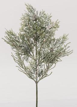 Glimmer-Zypressenzweig 51 cm