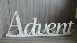 Kerzenleuchter Advent L 60 cm