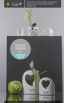 Teelicht Samara Herz - SSV
