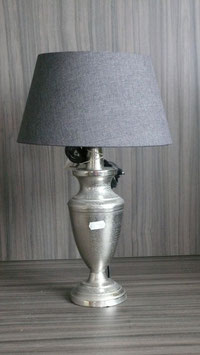Lampe Metall Höhe 42 cm