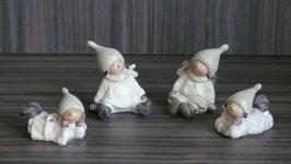 Santa Kids Lilian creme-silber klein
