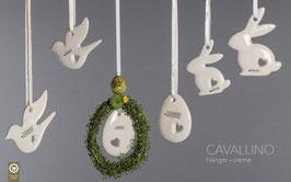 Osterhänger Cavallino 3er-Set