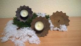 Kerzenteller für Teelicht zum Stecken