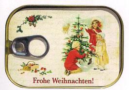 Frohe Weihnachten - Dosenpost 0206