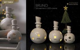 Schneemann  Bruno LED -25 cm 2.Wahl