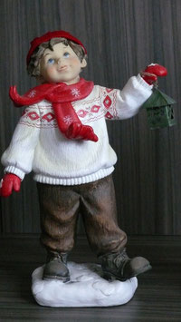 Winterkinder 34 cm Junge