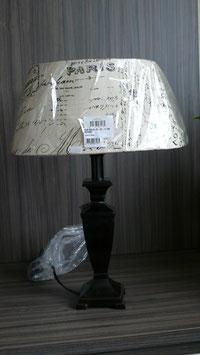 Lampe Dunkelbraun Höhe 50 cm