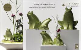 Frosch Golo grün metallic