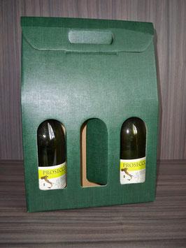 3er Flaschenverpackung grün 260