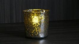 Teelichthalter Glas beschichtet 2-SSV