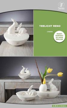 Teelicht Reno mit Emilian - Sonderpreis