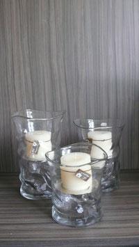 Windlicht - Vase Glas-SSV