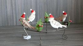 Kerzenhalter Vogel