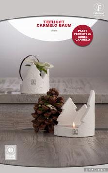 Teelicht Carmelo Baum F - 10 cm