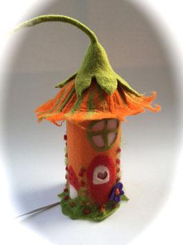 Filz-Tischlampe Herbst