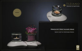 Teelicht Herz Sassari
