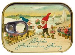 Vintage Herzlichen Glückwunsch- Dosenpost 0146