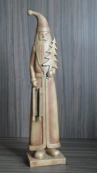 Weihnachtsmann Holz 53 cm