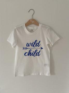 """Shirt """"wild one"""", Gr. 104"""