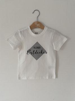 """Shirt """"Kleiner Entdecker"""", Gr. 86"""