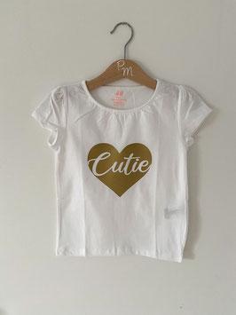 """Shirt """"Cutie"""", Gr. 110/116"""