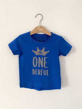 "Jungenshirt ""Mr. ONEderful"""