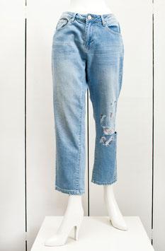 Jeans, bianco, Blue Denim Gr.38/40