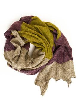 Schal butapana, 100%Wolle