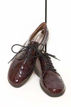 Schuh Ganter Lackleder bordeaux Gr.38