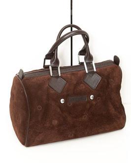 Longchamp Tasche Leder dkl.braun