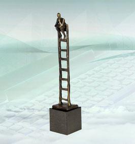 "Skulptur ""Der kreative Denker"""