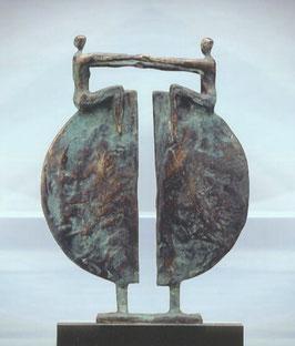"""Bronzeskulptur """"Neue Perspektiven"""""""