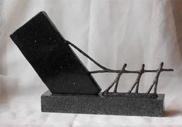"""Skulptur """"Ein großes Werk vollbringen"""""""