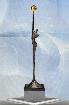 """Skulptur """"Innovative Ideen"""""""