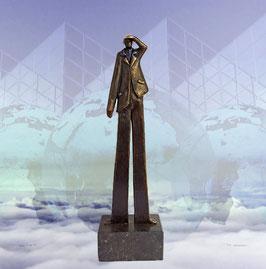 """Skulptur """"Der Weitblick"""""""