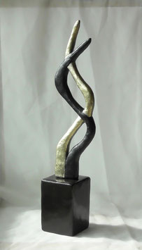 """Skulptur """"Gemeinsam wachsen"""""""