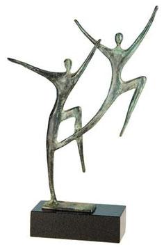 """Skulptur """"Jahrelange Verbundenheit"""""""
