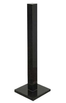 Granitsockel schwarz, hochglanzpoliert 10 x 10 x 100 cm