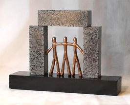 "Skulptur ""Das Tor zu neuen Perspektiven"""