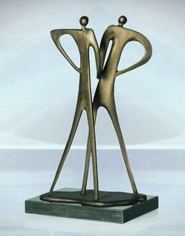 "Skulptur ""Ein kräftiger Händedruck"""