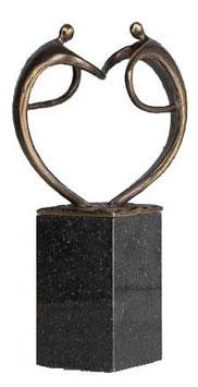 """Skulptur """"Der wertschätzende Gruss"""""""